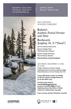 Choral Society 76th Annual Winter Concert