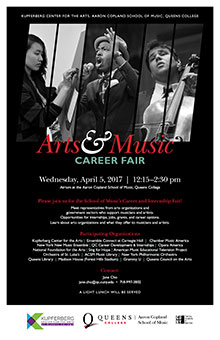 Arts & Music Career Fair