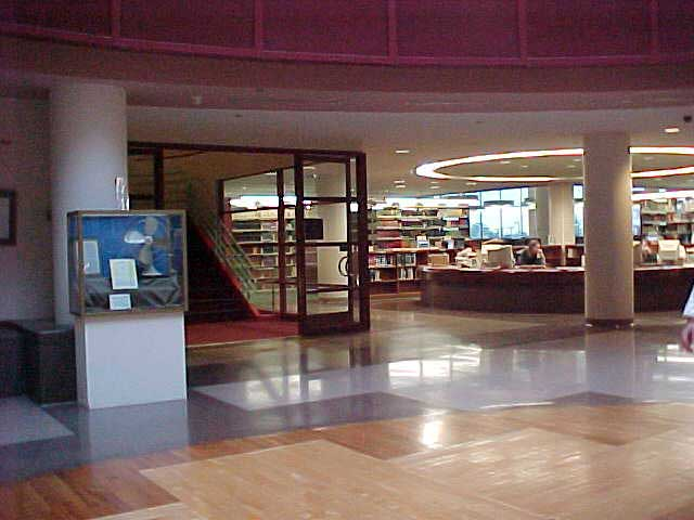 Rotunda View Toward Reference Desk