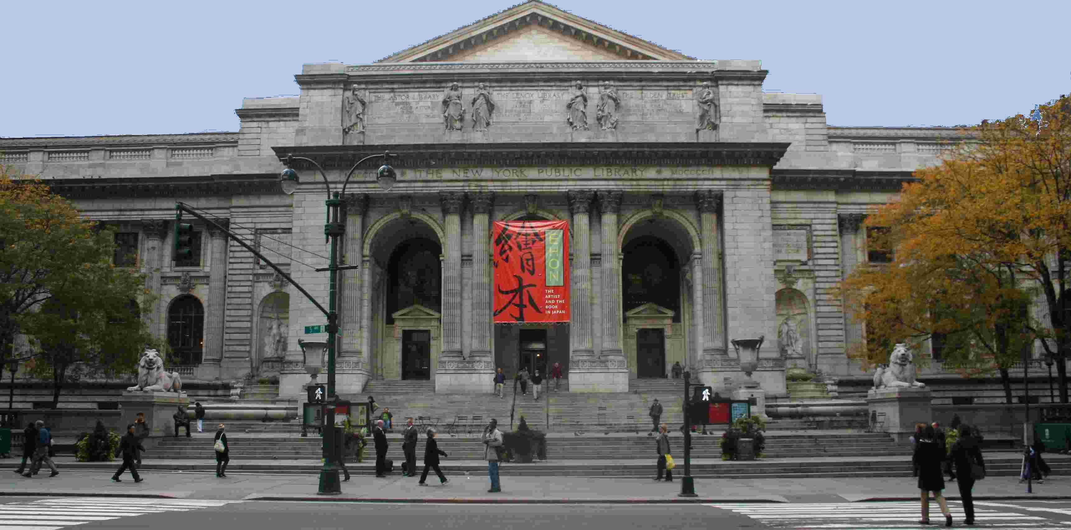 New York Public Library at ...
